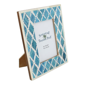 turquoise photo frame