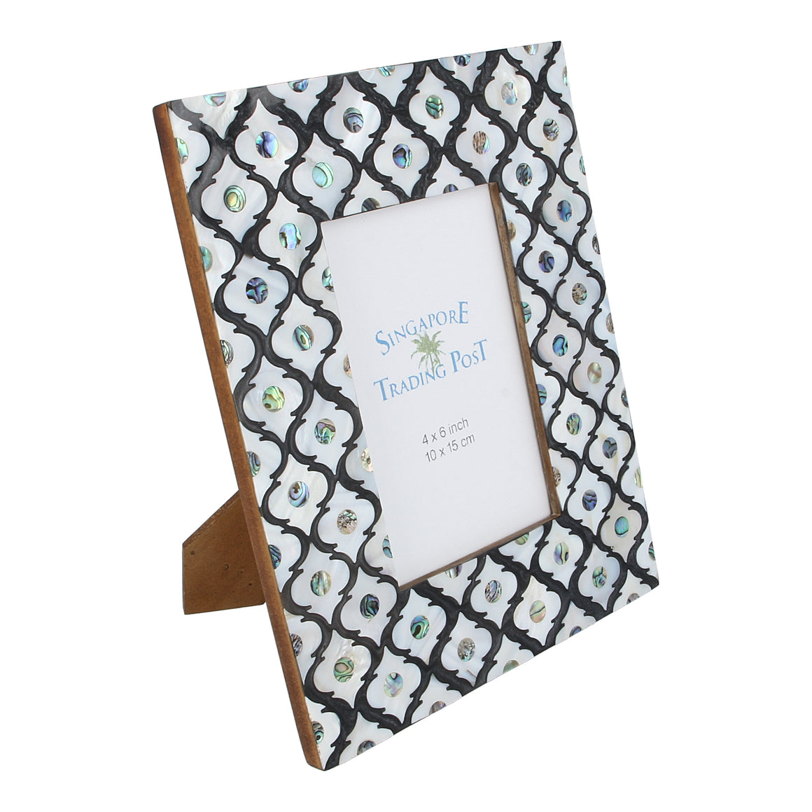 mother of pearl shell photo frame
