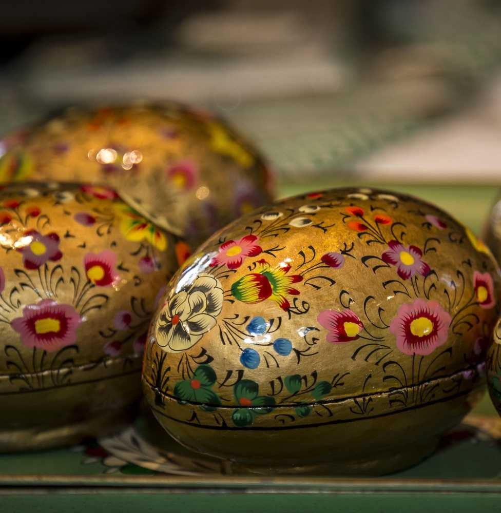Gold painted easter egg gift box singapore trading post gold painted easter egg gift box negle Image collections