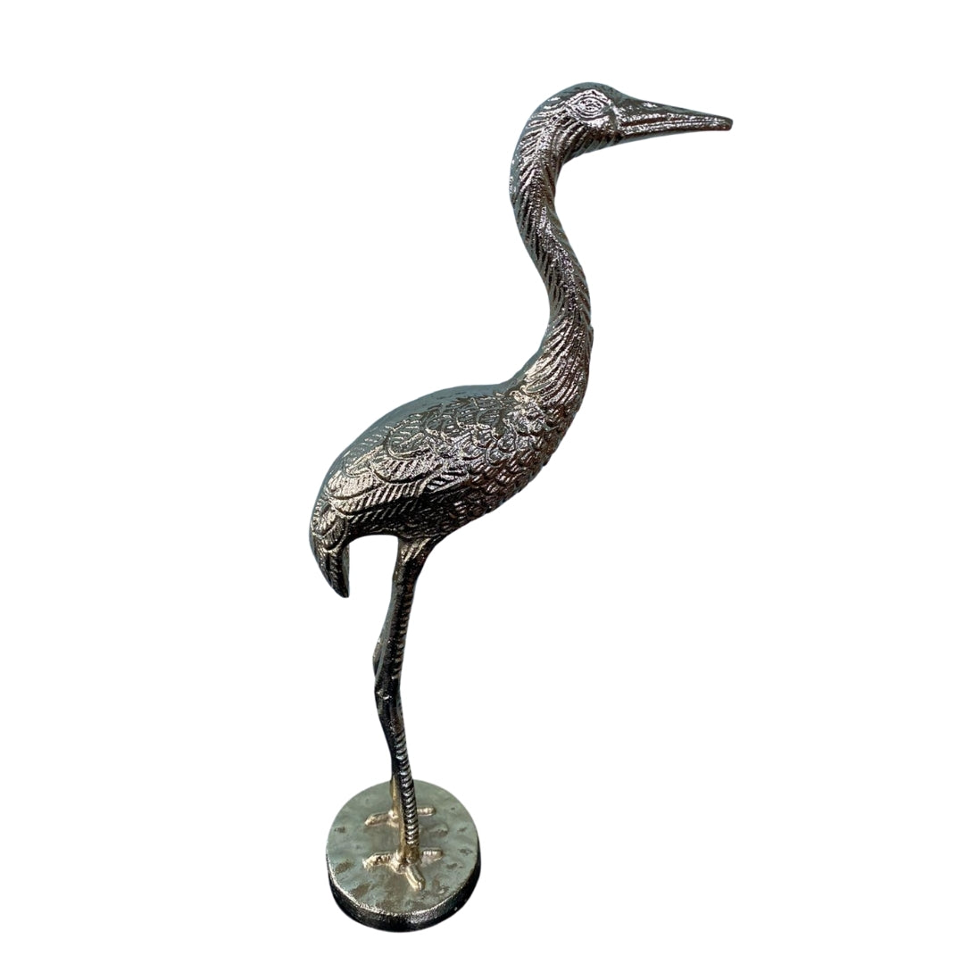 Decorative Brass Heron