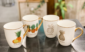 Mug-nificant Pineapple Set