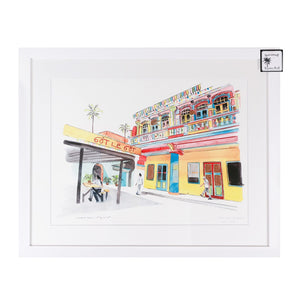 Framed print of Little India, Singapore