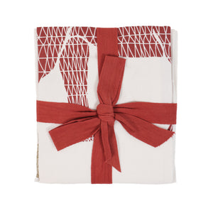 elephant tea towels mixed pack - set of 2