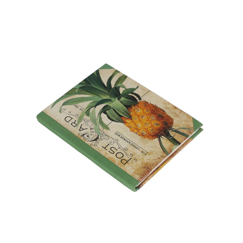 notebook/journal with pineapple cover