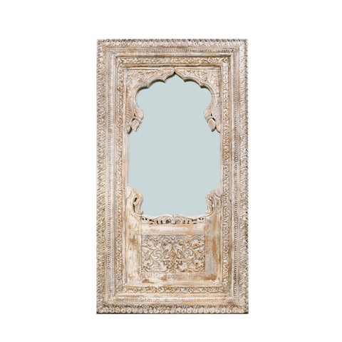 Grand carved Indian mirror