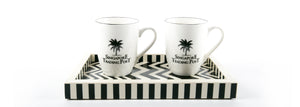 Black Singapore Trading Post Mugs