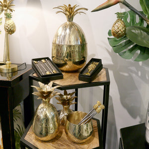 Brass pineapple collection
