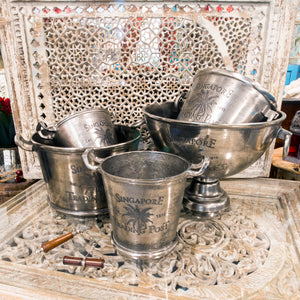 The Trading Post Original Silver Ice Bucket