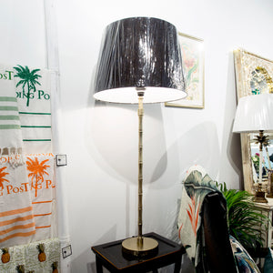 bamboo tall table lamp
