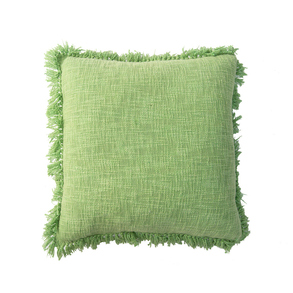 lime green cushion