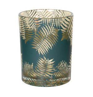 fern tea light holder