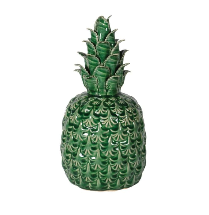 ceramic green pineapple