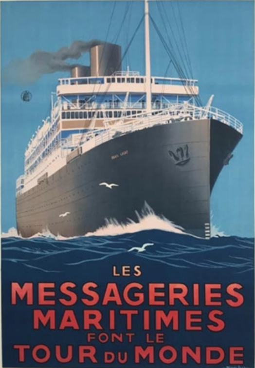 Messageries Maritimes artwork