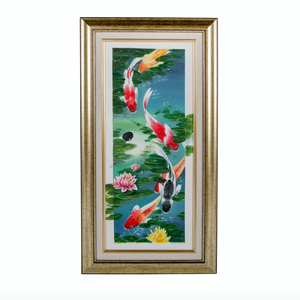 Koi carp artwork