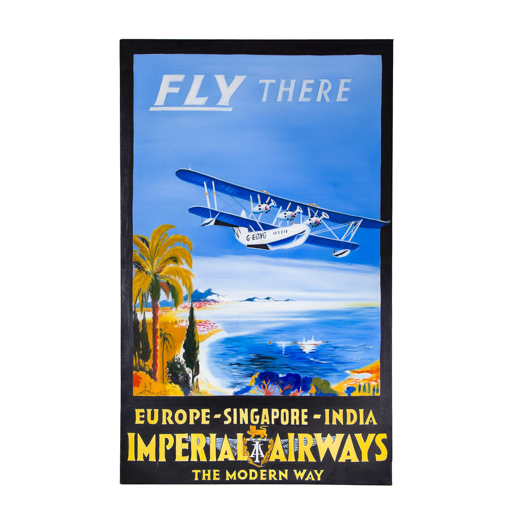 Oil on canvas imperial airways