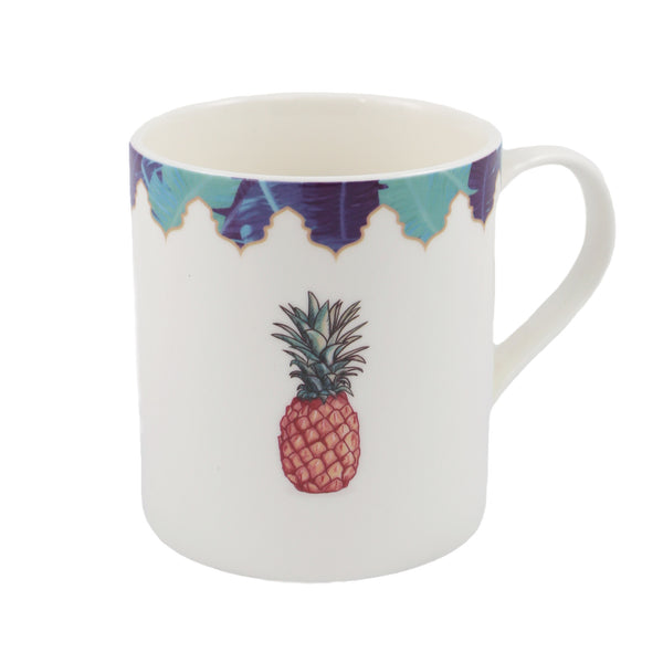 Pineapple theme mug