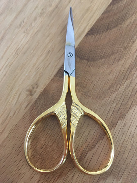 "3.5"" lion tail embroidery scissors - etui coterie"