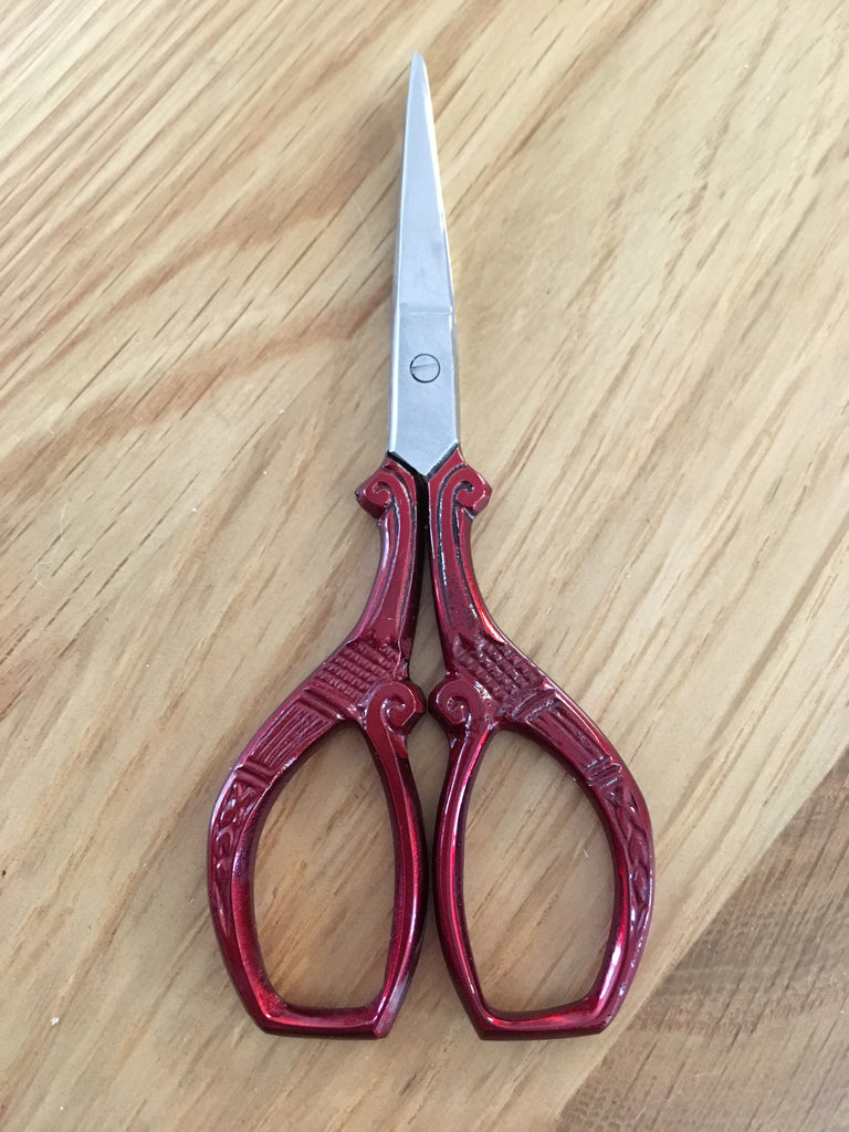"3.5"" square style coloured scissors - etui coterie"