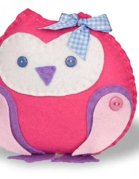 Bee-Boo Toots Felt Owlet Sewing Kit - etui coterie