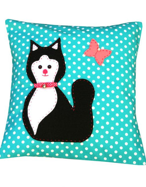 Max Ecklefecin Cat – Cushion Sewing Kit - etui coterie