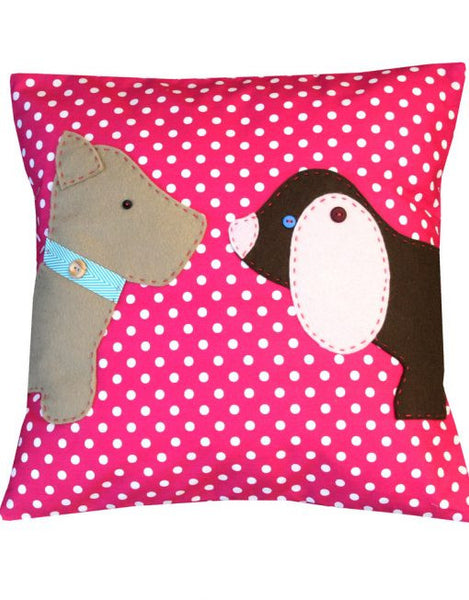 Nose to Bows Dogs – Cushion Sewing Kit - etui coterie