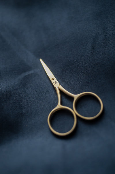 Fine Work Gold Scissors