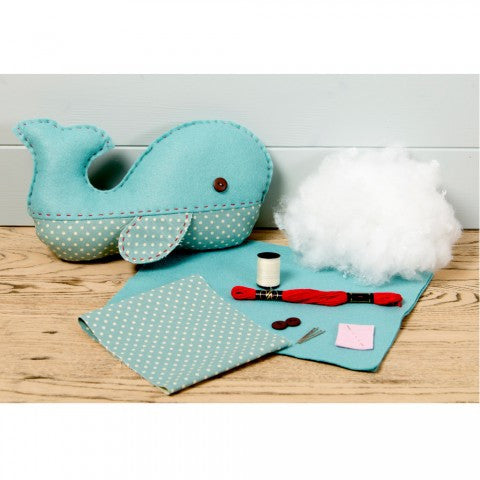 Wigsby Whale Sewing Kit - etui coterie
