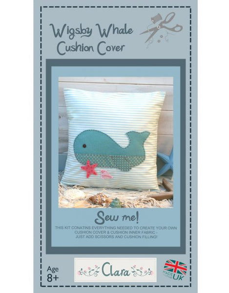 Wigsby Whale – Cushion Sewing Kit - etui coterie