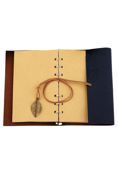 Blue loose leaf note book - etui coterie