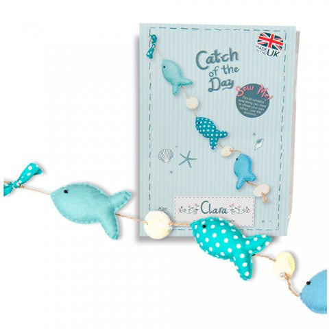 Catch of the Day Fish Sewing Kit - etui coterie