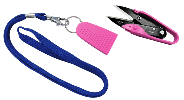 Thread Cutters / Snips with Lanyard - etui coterie
