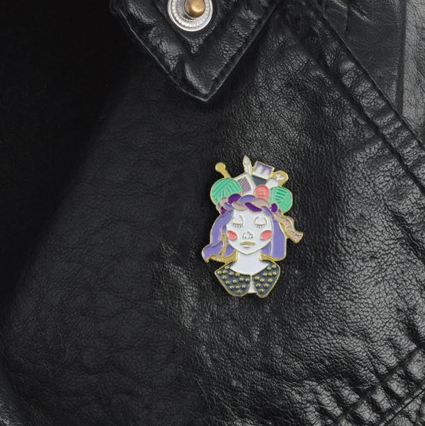 Craft Queen Pin Badge