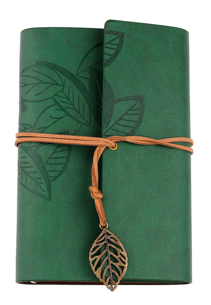 Green loose leaf note book - etui coterie