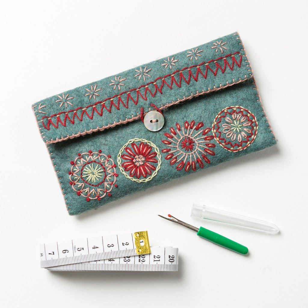 Felt Sewing Pouch Kit