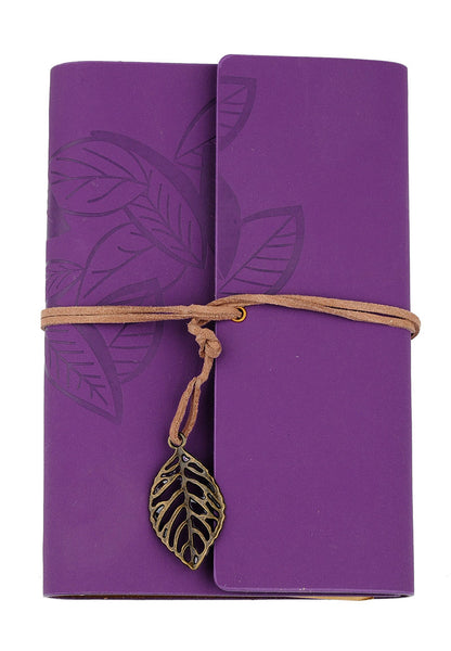 Purple loose leaf note book - etui coterie