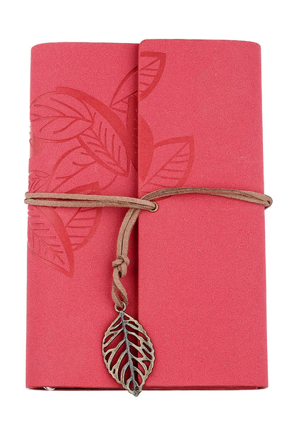 Red loose leaf note book - etui coterie