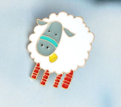Sheep Pin Badge