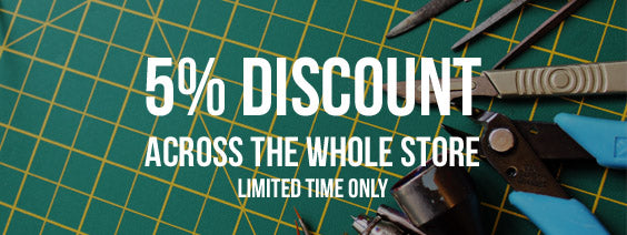 5% Discount on all orders! LIMITED TIME