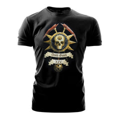 Warhammer 40k Warhammer World Event Only T shirt Death Guard Icon Black