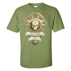 Warhammer 40k Warhammer World Event Only T shirt Death Guard Icon Green