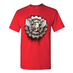 Warhammer 40k Warhammer World Event Only T shirt Opus Taghmata Red