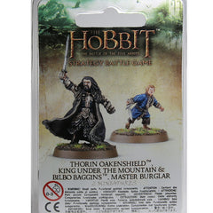 Warhammer World The Hobbit Thorin Oakenshield Bilbo Baggins Master Burglar Event