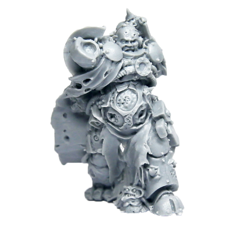 Warhammer 40k Forgeworld Death Guard Nurgle Sorceror Torso Legs Head