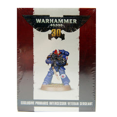 Warhammer Exclusive Primaris Intercessor Veteran Sergeant EXCLUSIVE