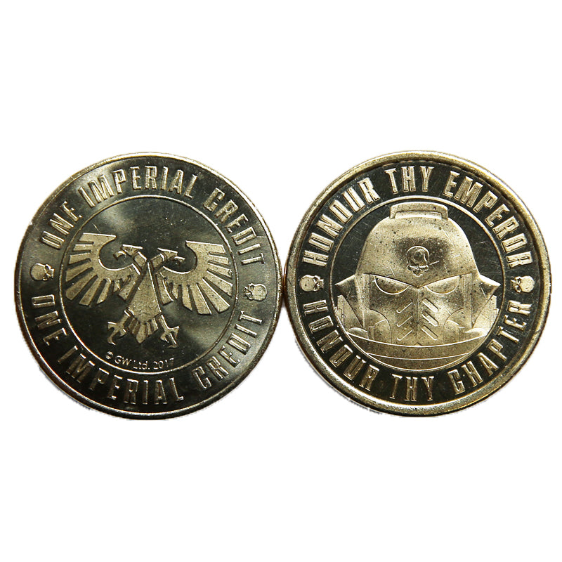 Games Workshop Warhammer World Souvenir Coin Space Marines