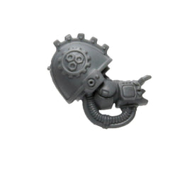 Warhammer 40K Space Marine Games Workshop Iron Hands Iron Father Feirros Arm Right
