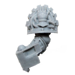 Warhammer 40K Space Marine Forgeworld Iron Hands Medusan Immortals Arm L C