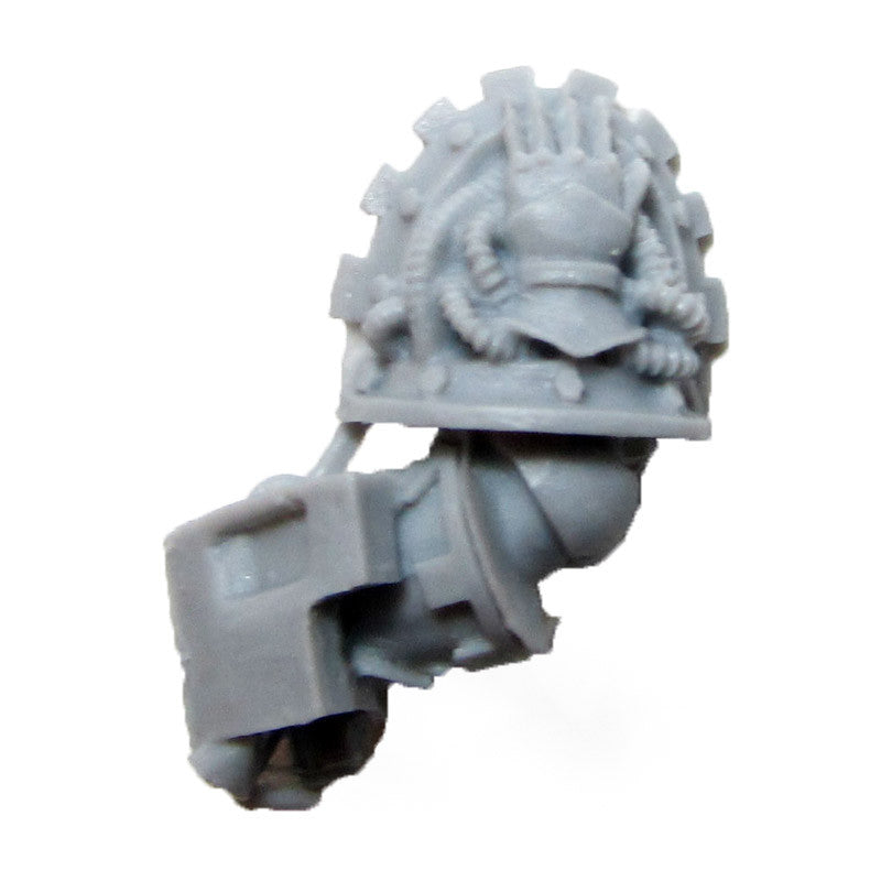 Warhammer 40K Space Marine Forgeworld Iron Hands Medusan Immortals Arm L E