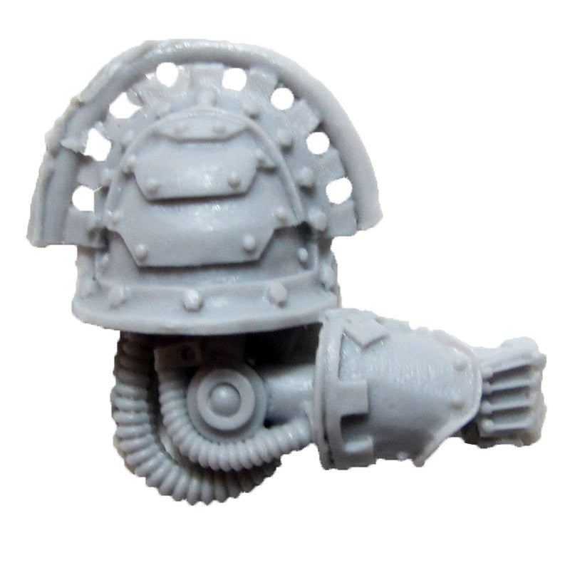 Warhammer 40K Space Marine Forgeworld Iron Hands Medusan Immortals Arm R E