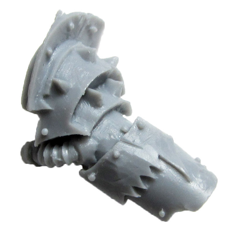 Warhammer 40K Forgeworld World Eater Red Butcher Arm Right B Bits
